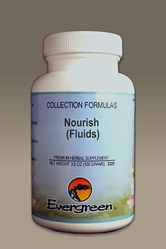 C3525 Evergreen Herbs Nourish (Fluids) Capsules 100 count Homeopathy Holistic Healthcare Natural Medicine Center Lakeland Central Florida