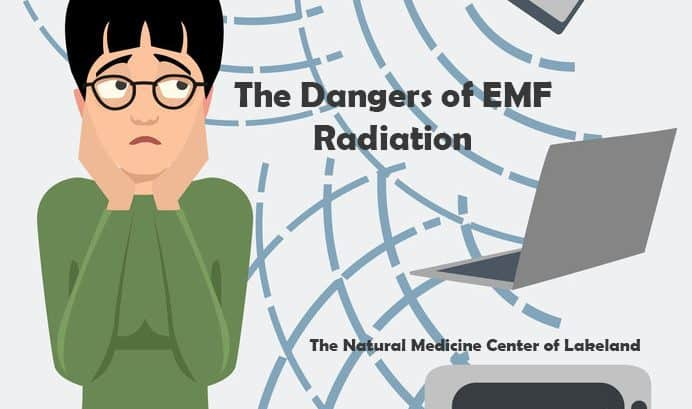 Dangers of EMF Radiation diagram