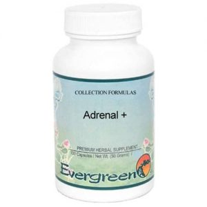 Adrenal Supplement Bottle